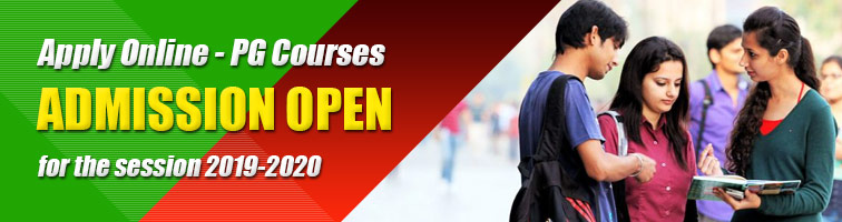 PG Admission Online 2019-2020 Darjeeling Govt College